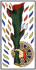 As de bâton Tarot de Marseille interprétation