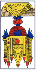 As de Coupe renversé Tarot de Marseille interprétation