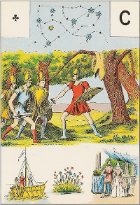 As de trèfle Melle Lenormand interprétation