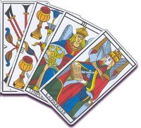 Interprétation des combinaisons du Tarot de Marseille