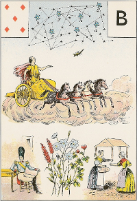 Cinq de carreau Melle Lenormand