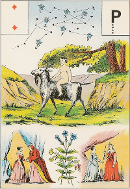 Deux de carreau tarot de Melle LENORMAND interprétation