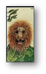 Le Lion carte 11 Oracle Gé