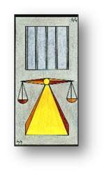 La Justice carte 44 Oracle Gé
