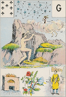 Sept de trèfle tarot Melle Lenormand interprétation