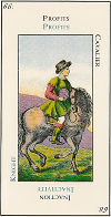 Signification carte 66 le Cavalier Tartare Le Grand Etteilla