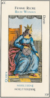 Signification carte 65 la Reine de Saba Le Grand Etteilla